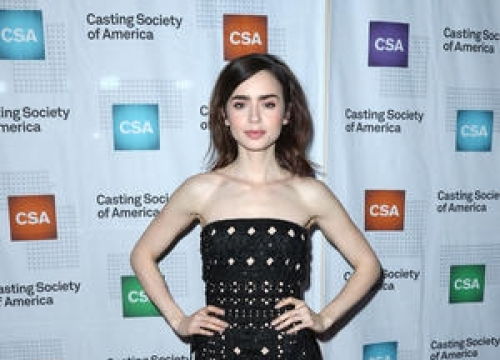 Lily Collins To Be Honoured By The Costume Designers Guild