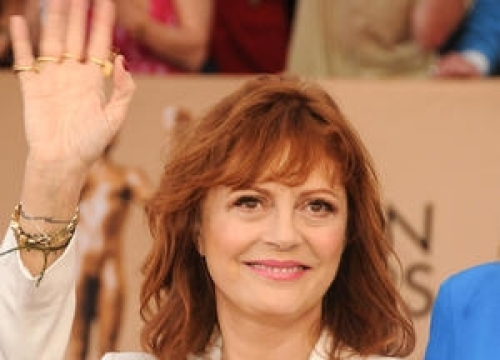 Susan Sarandon's Son Brands Cleavage Critics 'Ageist And Sexist'