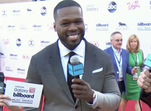 50 Cent - Red Carpet Interview (2015 Billboard Music Awards) Video