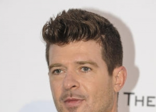 Robin Thicke Goes Public With New Romance In Cannes