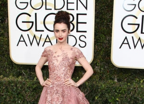 Lily Collins Recommends 'All Girls Should Date Themselves'