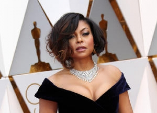 Taraji P. Henson 'Vibes Out' To Hip Hop While Getting Red Carpet Ready