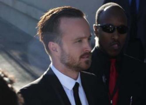 Aaron Paul Met 'Crush' Rihanna