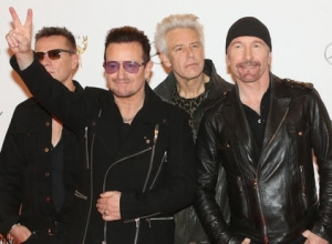 U2 Try A Little Busking In NYC