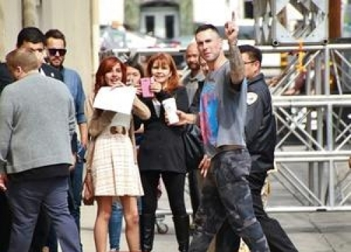 Adam Levine Sugar-bomber Faces Battery Charges