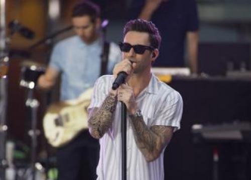 Adam Levine Is Music Aide