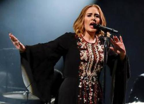 Adele's Son Swears