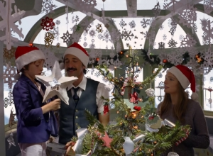 Wes Anderson Teams Up With Adrien Brody For Christmas Advert