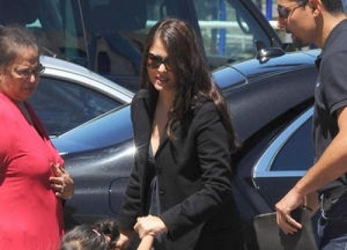 Aishwarya Rai Bachchan Marks Return To Film At Cannes