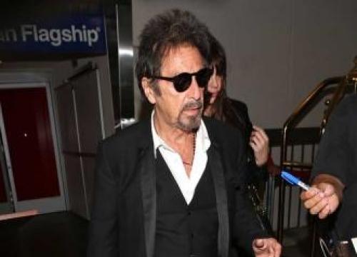 Al Pacino doesn't shop