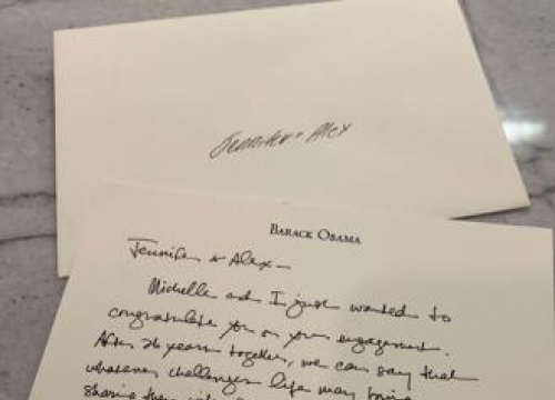 J.lo And A-rod Congratulated On Engagement By Obamas