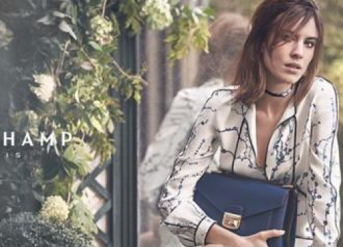 Alexa Chung Stars In Her Seventh Longchamp Campaign