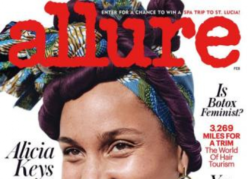 Alicia Keys: 'I'm Not A Slave To Make-up'
