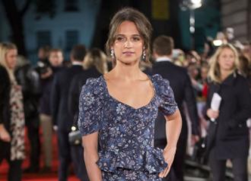 Alicia Vikander: Playing Lara Croft Is A Childhood Dream Come True