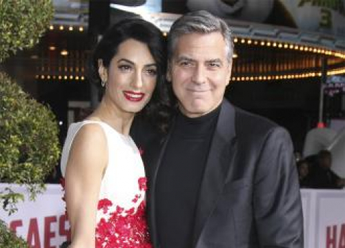 George And Amal Clooney Are Hands-on Parents