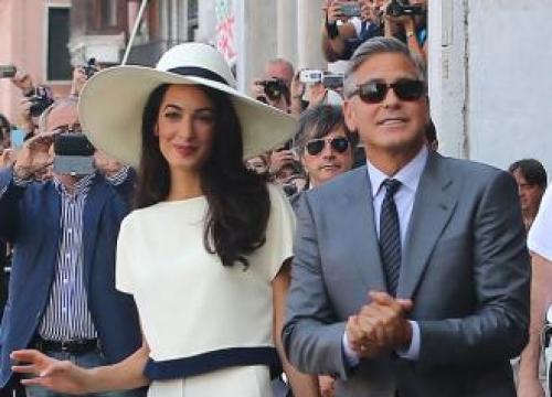 George Clooney won't prank Amal