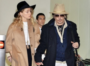 Johnny Depp And Amber Heard Seen Together, Quashing Breakup Rumours