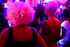 Amber Rose And Blac Chyna Enjoy Diva Fridays Night At Miami's G5ive Lounge