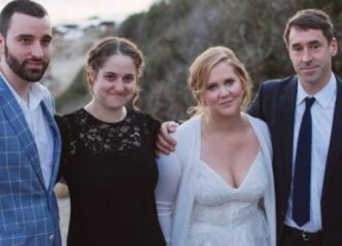 Amy Schumer Shares More Wedding Day Snaps