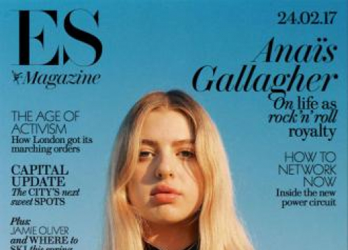 Anais Gallagher And Noel Gallagher Have Shoe Spats