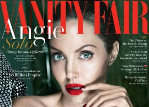 Angelina Jolie Suffered Bell's Palsy Last Year