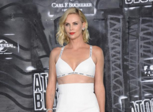 Charlize Theron Has Some Really Weird Dance Moves Under Pressure