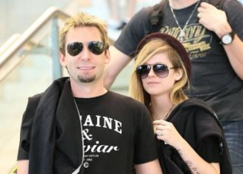 Avril Lavigne And Chad Kroeger Make Music