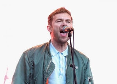 Damon Albarn And Noel Gallagher Thrill Fans At Gorillaz Gig
