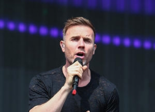 Gary Barlow Plays Surprise Gig At Shopping Centre
