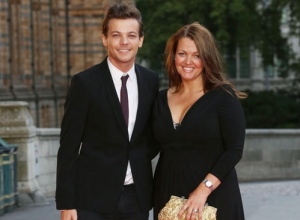 Louis Tomlinson, Mother Johannah Deakin and One Direction