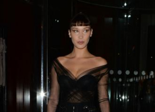 Bella Hadid 'Conserves' Herself On Social Media