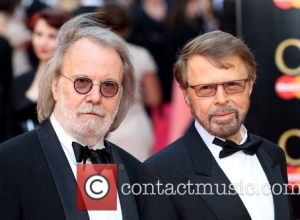 Benny Andersson, Bjorn Ulvaeus and Abba
