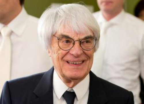 Bernie Ecclestone: 'I Just Hope I Live Long Enough To See As Much Of Our Baby As I Can'