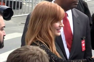 Best Supporting Actress Nominee, Jessica Chastain, Outside The Independent Spirit Awards - Part 4