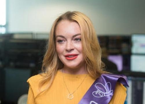 Lindsay Lohan Focusing On 10-Year Plan With Meditation