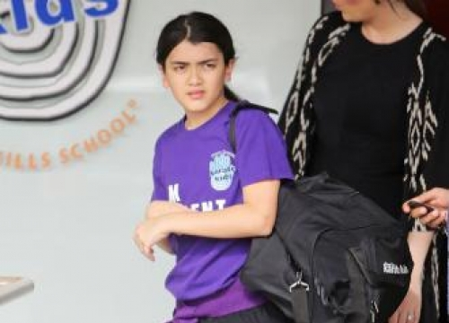 Blanket Jackson changed name because of bullies