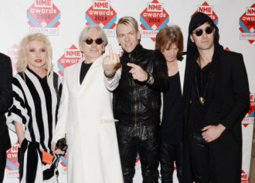 Blondie Have Been Writing New Material To Stay 'Sane'
