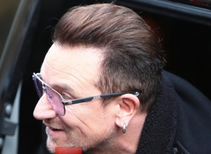 Bono Meets With Canadian Prime Minister To Discuss Foreign Aid