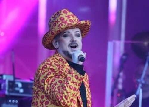 Boy George Honours David Bowie At U.k. Stand Up To Cancer Special