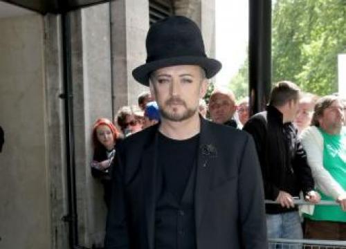 Kylie Minogue praises 'courageous' Boy George at Ivor Novellos