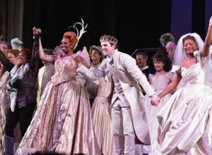 Keke Palmer Weeps In Cinderella On Broadway's Last Curtain Call [Photos]