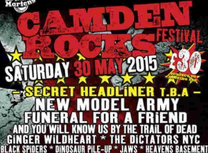 New Model Army And Glen Matlock Added For Camden Rocks 2015 Ahead Of 'Special Headliner' Announcement