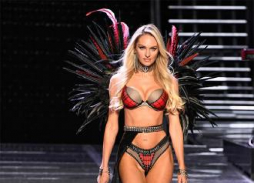 Candice Swanepoel Makes Victoria's Secret Comeback