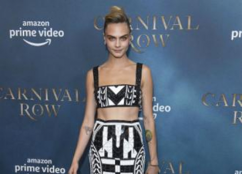 Cara Delevingne Feels Lucky In Love
