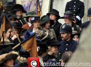 'Suffragette' Stars Meryl Streep And Helena Bonham Carter Join Emmeline Pankhurst's Family For International Women's Day
