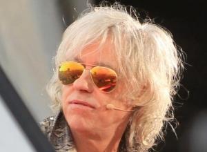 Bob Geldof and Aino Laberenz