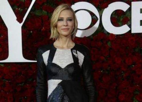 Cate Blanchett Is 'Relishing' Wearing Winter Footwear