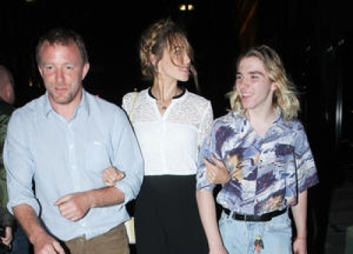 Guy Ritchie Screened Film At His Wedding - Report