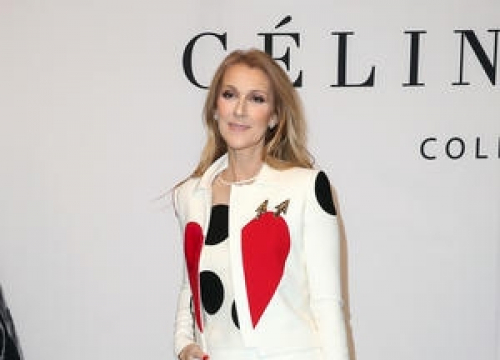 Celine Dion Rocks Retro Look To Unveil New Accessories Line