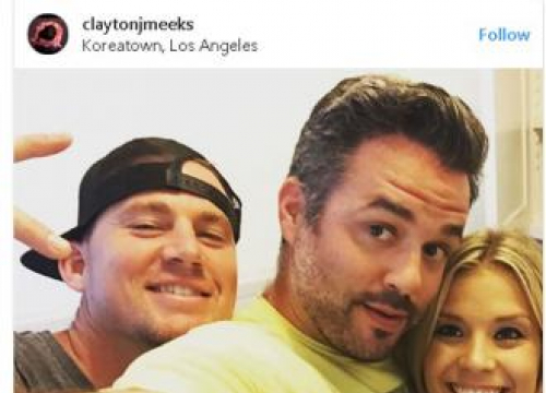 Channing Tatum Delivers Alcohol To Fans